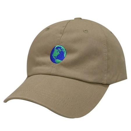 - City Hunter C104 Earth Cotton Baseball Dad Cap 19 Colors (Khaki)