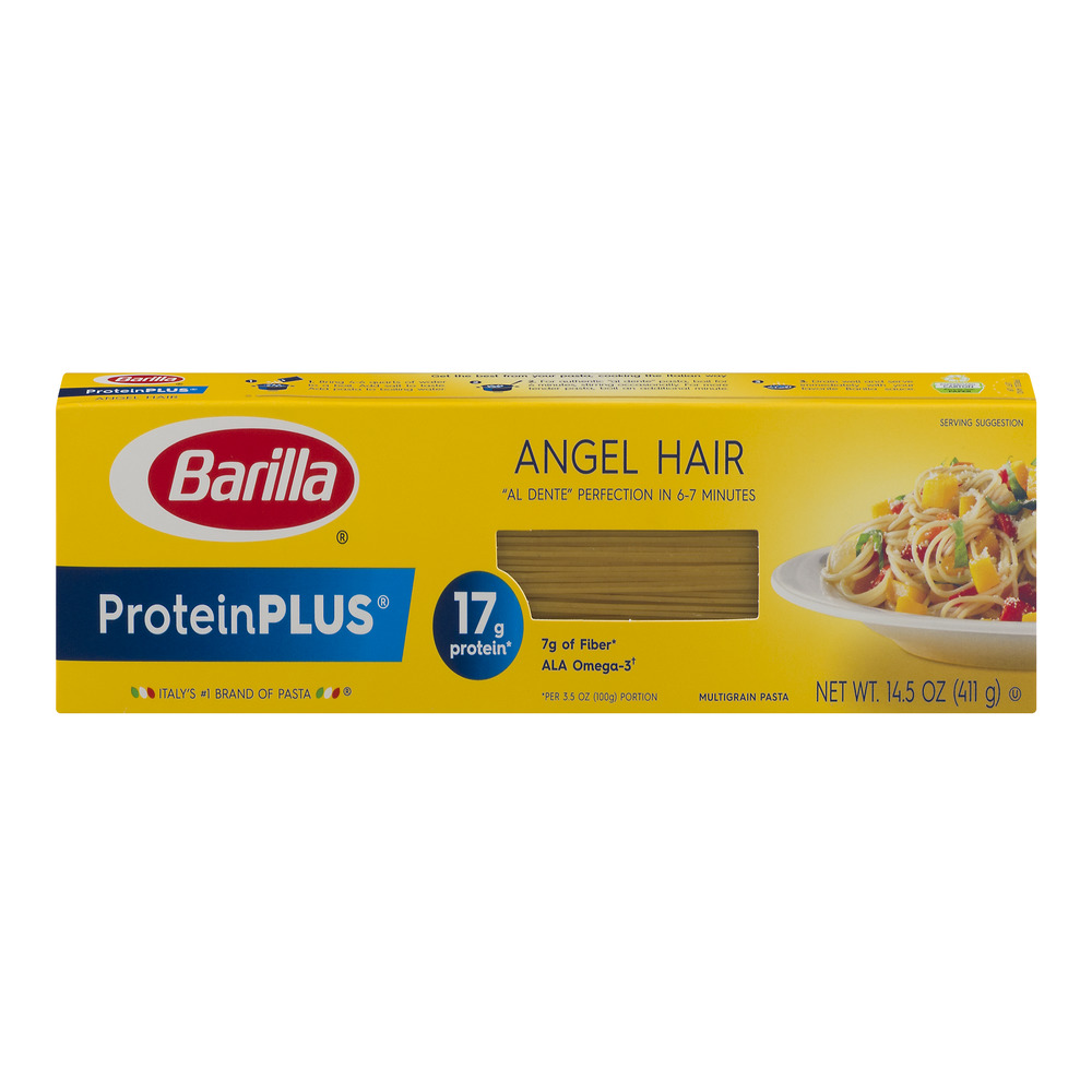 Barilla Pasta ProteinPlus Angel Hair, 14.5 OZ by Barilla America