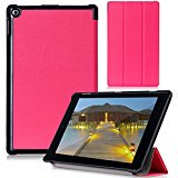 Fire HD 8 2015 Case _ Cellularvilla Ultra Slim Smart_shell Case _Lightweight_ Folding Stand Cover for Amazon Kindle
