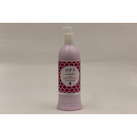 OPI Hand & Body Lotion Avojuice, Jasmine, 20 Fl Oz Casual Rose Body Lotion