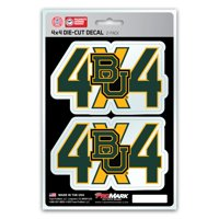 Baylor Bears 4X4 Team Decal 2-Pack Set