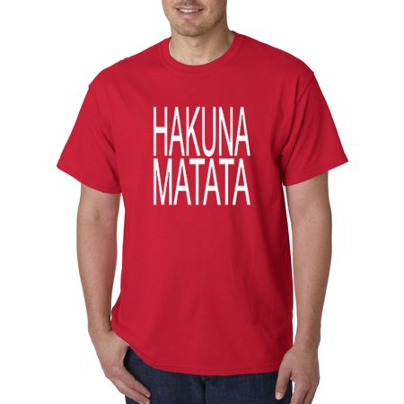 435 - Unisex T-Shirt Hakuna Matata The Lion King Simba Timon - Timon And Pumbaa Halloween Costumes For Adults