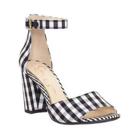 Women's Jessica Simpson Sherron Ankle Strap Sandal Gold High Heel Sandals