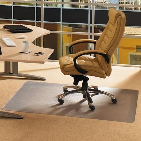 Cleartex Advantagemat 46 X 60 Low Pile Carpet Chair Mat Rectangular Walmart Com