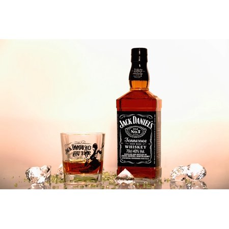 Framed Art for Your Wall Daniels Whisky Jack 10x13