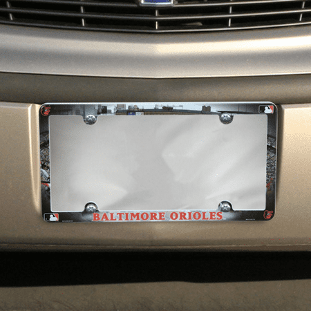Baltimore Orioles Field Plastic License Plate Frame - No Size (Plates Baltimore)