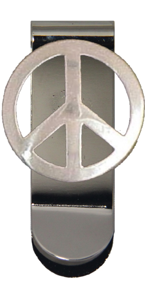 Peace Sign Money Clip Walmart