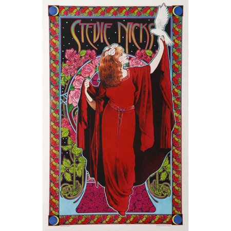 Stevie Nicks - Concert Promo Poster - Nick Halloween Promo