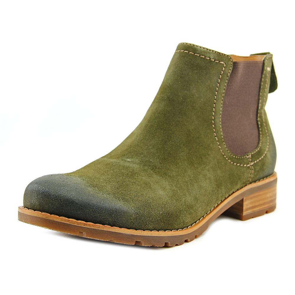 Sofft Selby Round Toe Suede Ankle Boot by Sofft