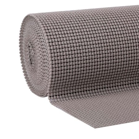 EasyLiner Select Grip 20 In. x 18 Ft. Shelf Liner, Taupe ()
