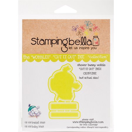 Stamping Bella Cut It Out Dies-Sleepy Bunny Wobble