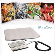 Leadzm Heavy Duty 200KG/100G Digital Postal Scale Shipping Electronic Scale US Plug