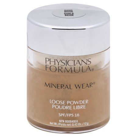 Physicians Formula Mineral Wear Loose Powder SPF 16, Sand Beige