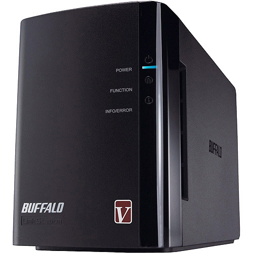Click here to buy Buffalo LinkStation Pro Duo 2-Bay 2 TB (2 x 1 TB) RAID High Performance Network Attached Storage (NAS) LS-WV2.0TL R1 by Buffalo.