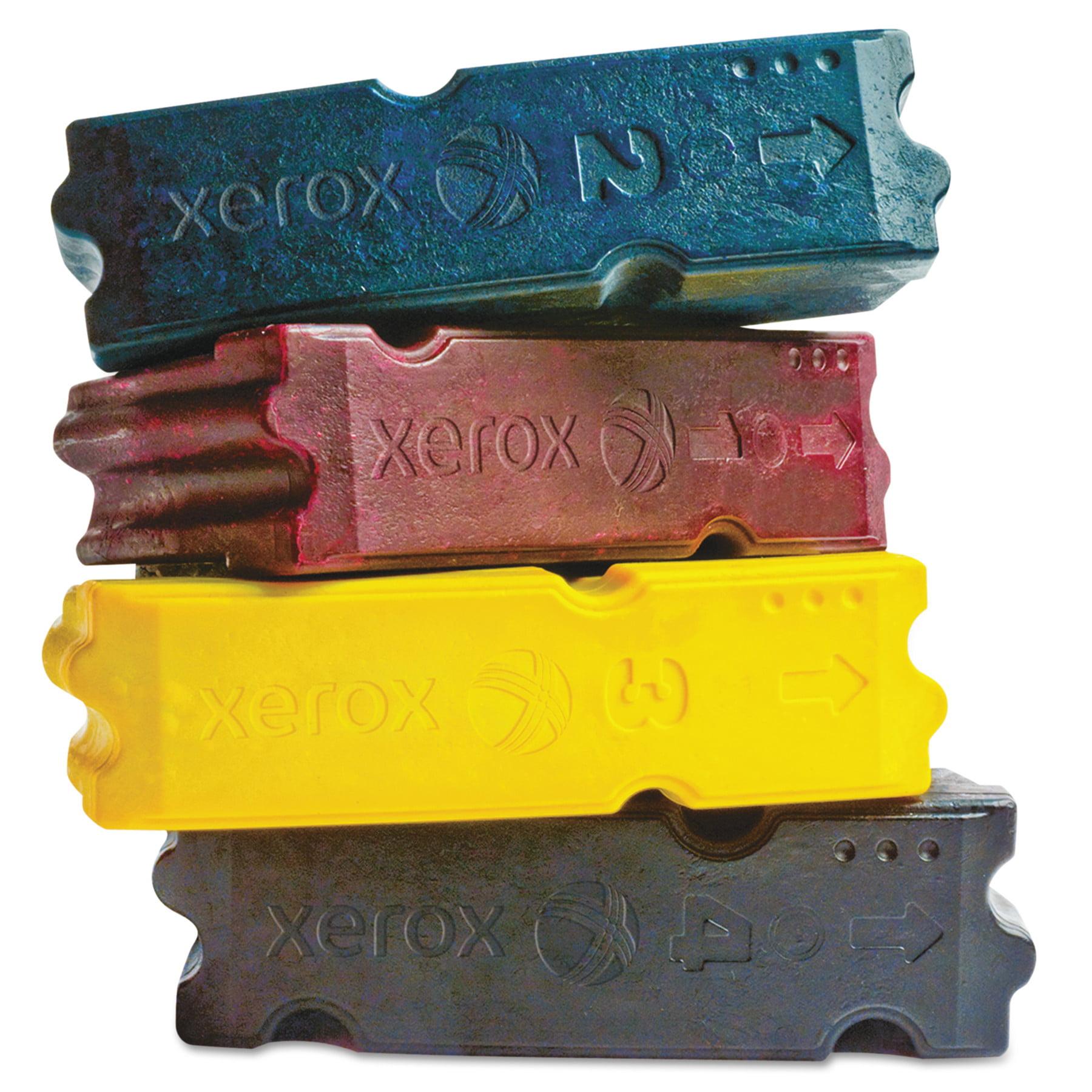 Xerox 108R00829 Ink Sticks, 37,000 Page-Yield, Cyan, 4/Box