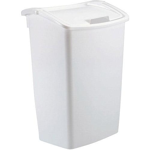 Rubbermaid 11.25-Gallon Dual Action Wastebasket