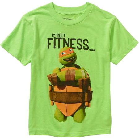 Teenage Mutant Ninja Turtle Names (Teenage Mutant Ninja Turtles Into Fitness Boys Graphic)