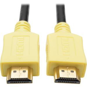 Tripp Lite 3ft Hi-Speed HDMI Cable Digital A/V UHD HDMI 4Kx2K M/M Yellow 3' (p568-003-yw)