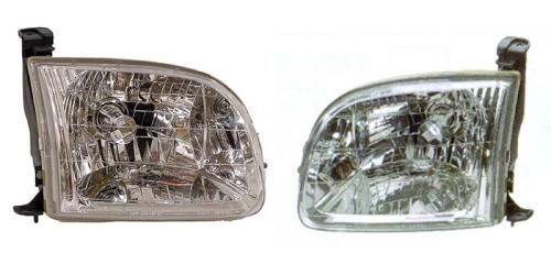 Fits 2000-2004   TOYOTA TUNDRA Head Light Assembly Passenger Side TO2503129