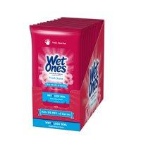 (10 Pk) Wet Ones Antibacterial Hand Wipes Travel Pack, 20 Ct