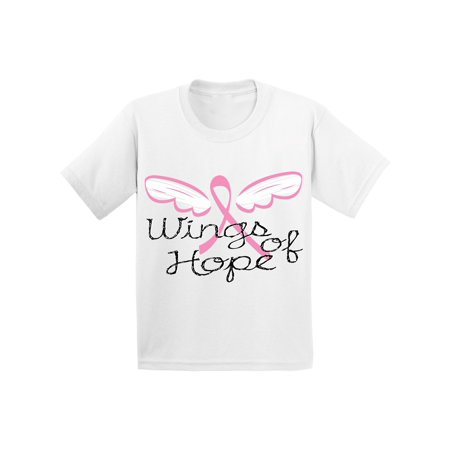 Awkward Styles Awkward Styles Wings Of Hope Tshirt Ribbon Angel