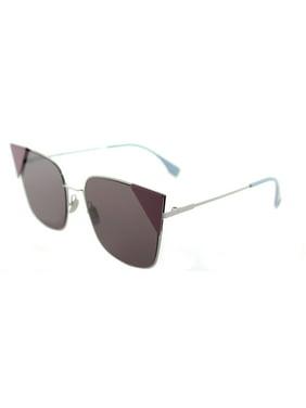 Sunglasses Fendi Ff 191/S 06LB Ruthenium / P3 mauve lens