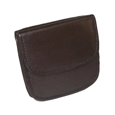 Front Snap Pockets (Size one size Men's Leather Front Pocket Snap Wallet)