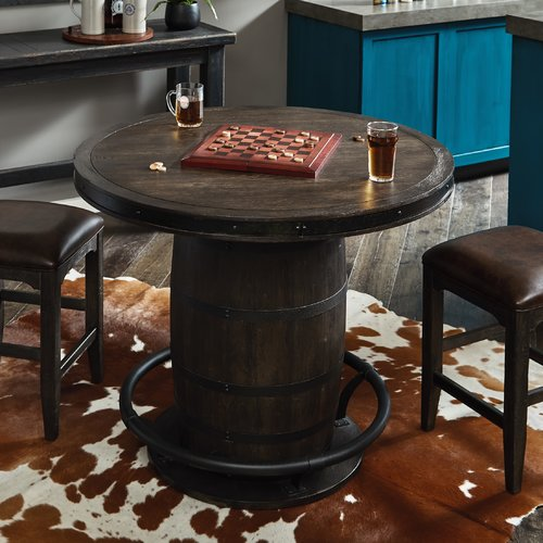 Merveilleux Loon Peak Renick Barrel Pub Table   Walmart.com