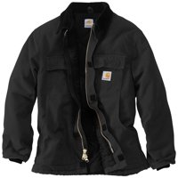 1a8e3e6bcfa Product Image Carhartt Men's Traditional Arctic Quilt-Lined Jacket - Big &  Tall (Black, ...