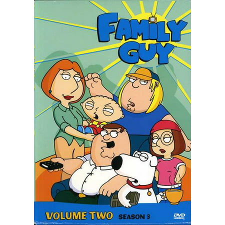 Family Guy Volume 2: Season 3 (DVD) (Family Guy Halloween Episodes)