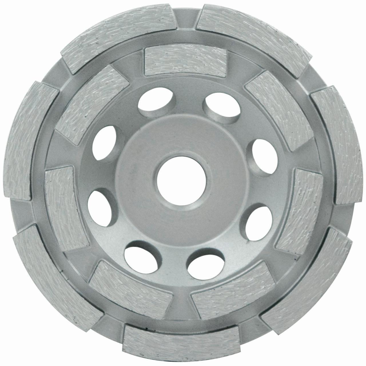 "5"" Spp Series Double Row Cup Wheel, Wet/Dry, 7/8""-5/8"""