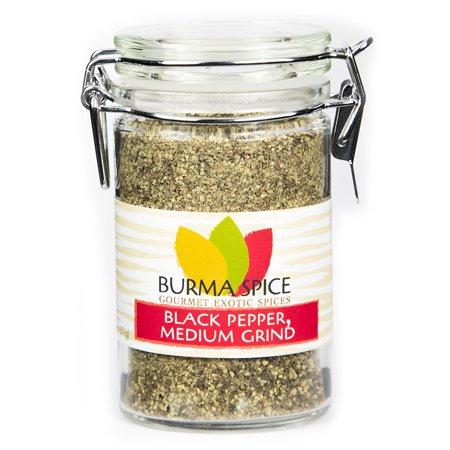 Burma Spice Black Pepper, Medium Grind