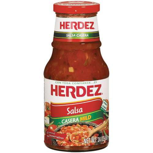Herdez Casera Mild Salsa 24 oz. Jar by Hormel Foods Corp. Grocery