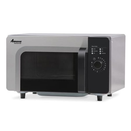 Amana - RMS10DSA - 1000 Watt Dial Type Commercial Microwave Oven