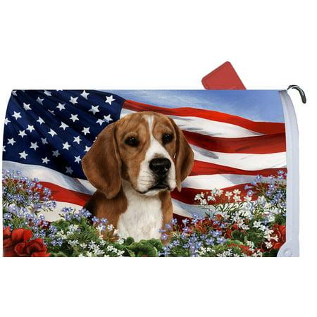 Beagle - Best of Breed Patriotic I Dog Breed Mail Box