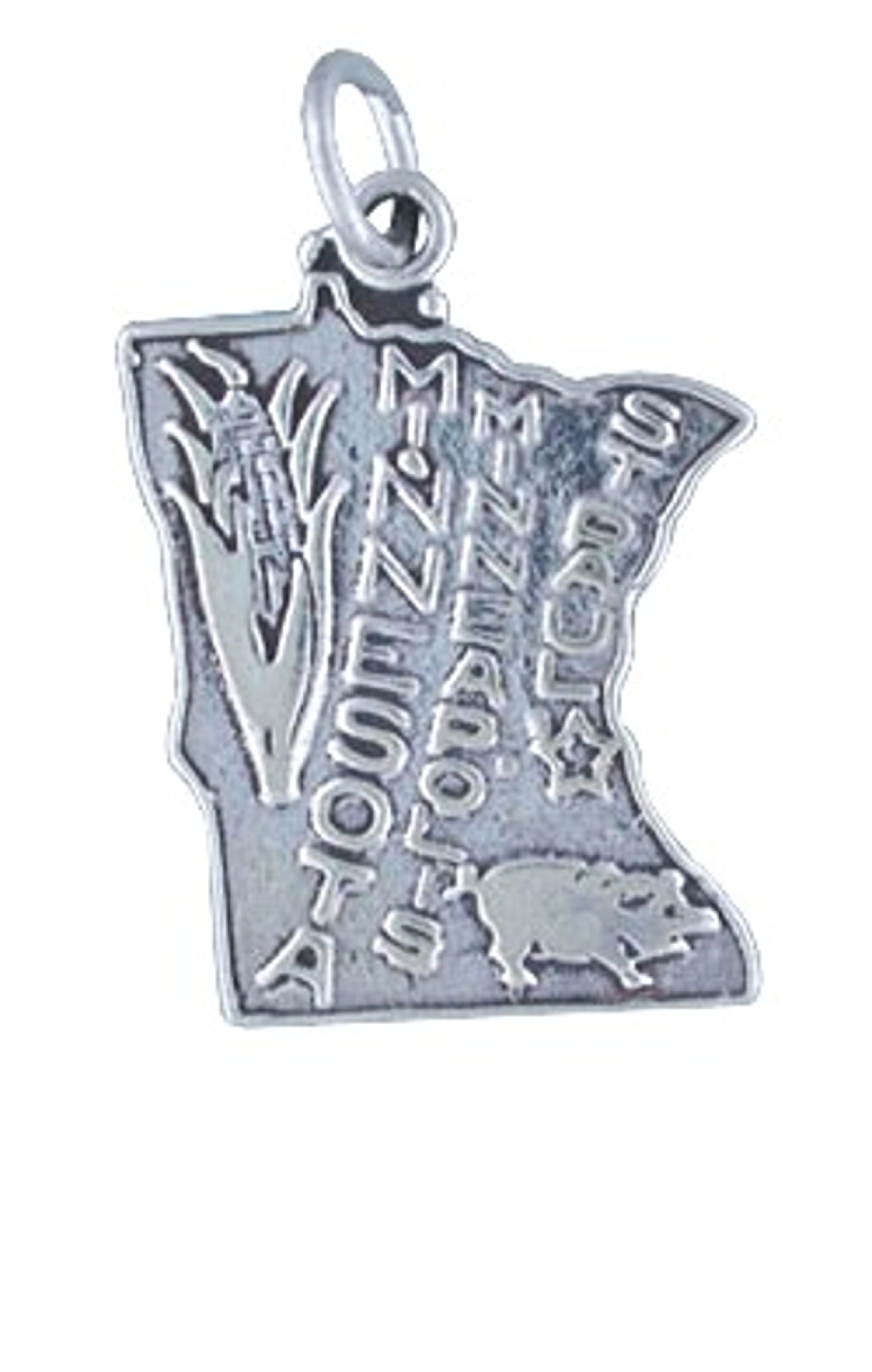 Sterling Silver I Love Horses Word Charm