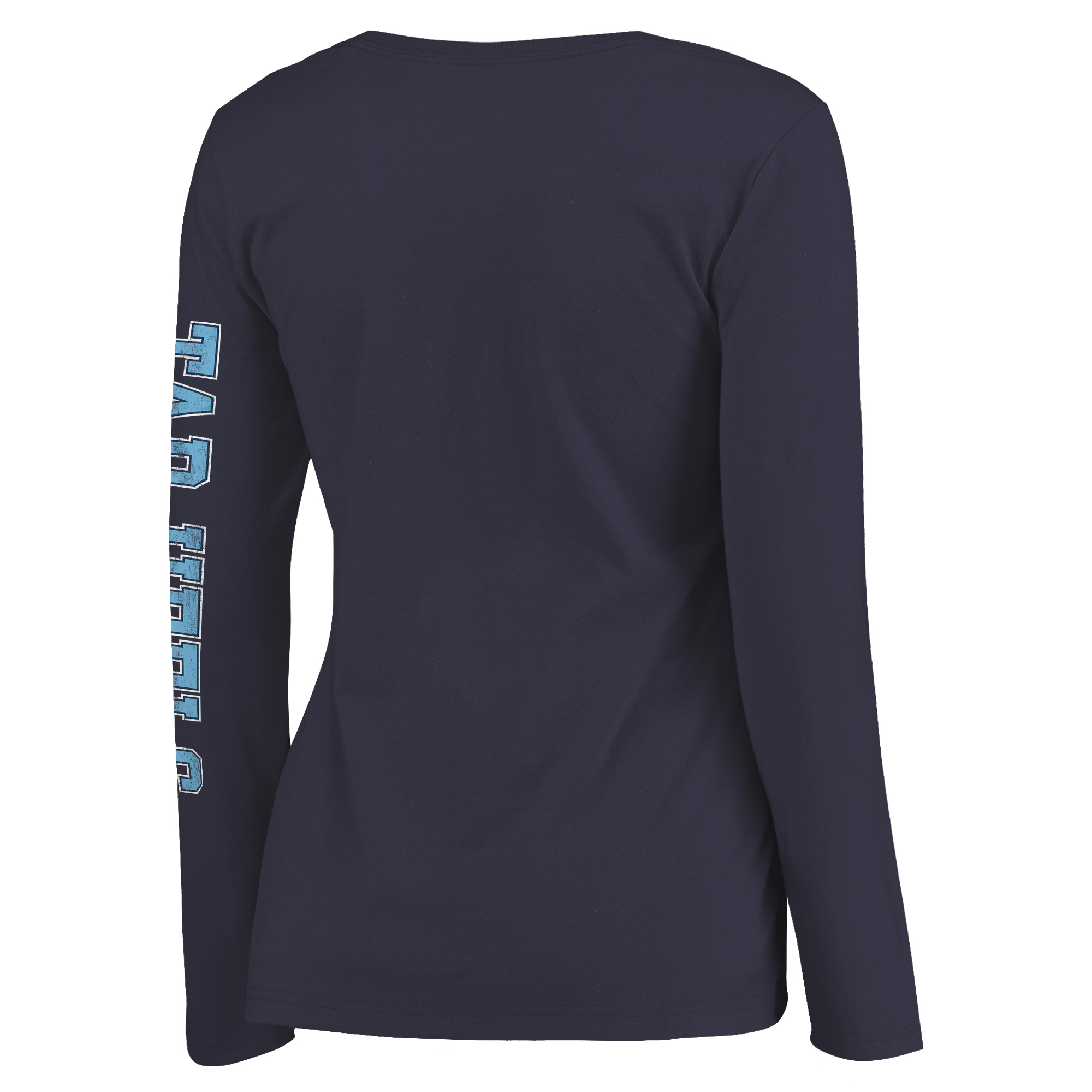 be1a705a North Carolina Tar Heels Fanatics Branded Women's Secondary Distressed Arch  Over Logo Long Sleeve Hit T-Shirt - Navy - Walmart.com