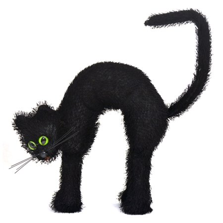 Cat with Green Eyes Prop (Dark Cat Eyes)