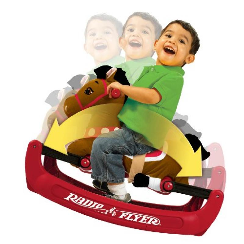 Radio Flyer Soft Rock and Bounce Pony with Sound (Discontinued by manufacturer) by