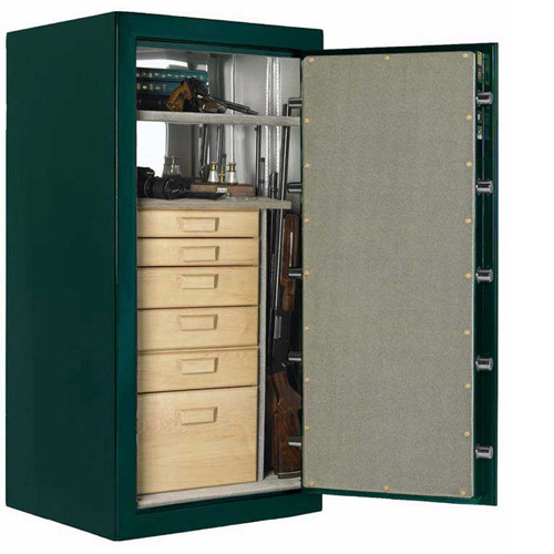 American Security Fire Resistant BF 25 Gun Safe, Hunter Green