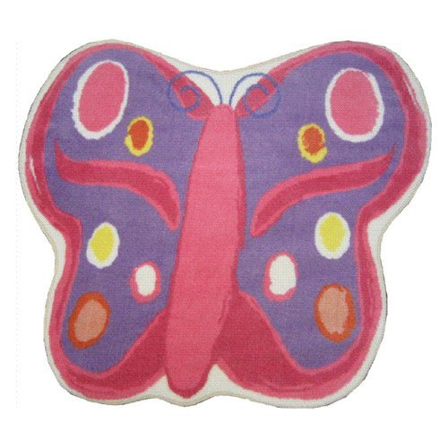 L.A. Rugs Butterfly Kids Area Rug