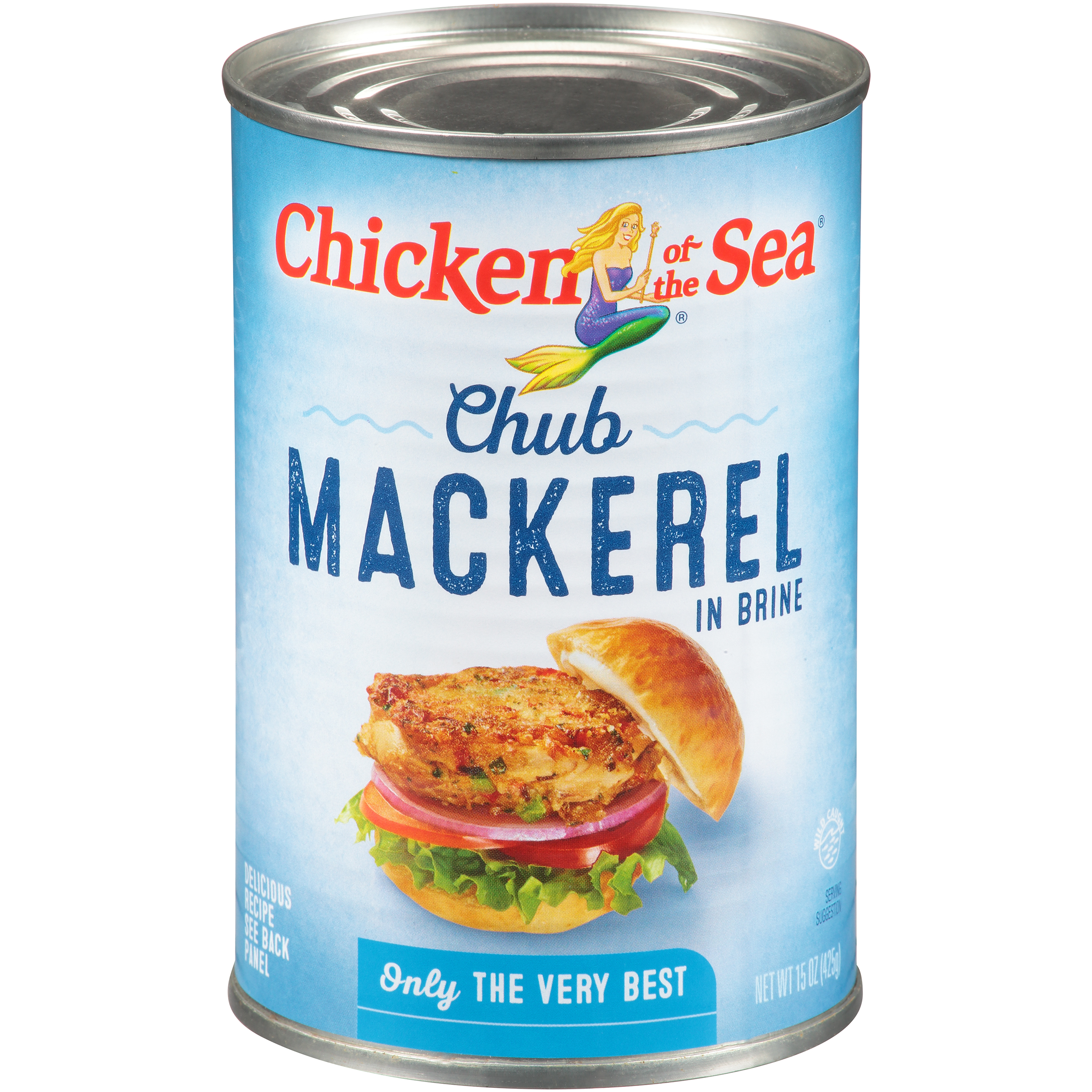 Chicken of the Sea Chub Mackerel 15 oz. Can by Chicken of The Sea International
