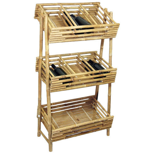 Bamboo54 Knock Down 36 Bottle Wine Rack