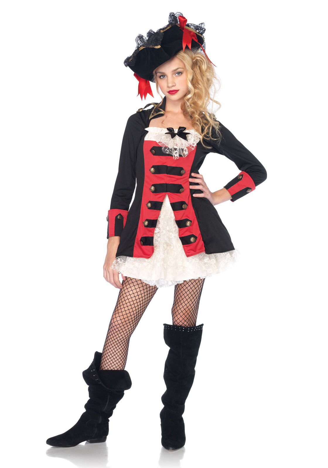 Leg Avenue Pretty Pirate Captain Juniors Costume by Leg Avenue