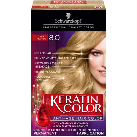 Schwarzkopf Keratin Color Anti Age Hair Color Reviews