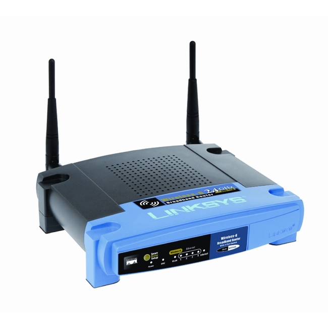 Linksys Wireless G Wi-Fi Router (WRT54GL)