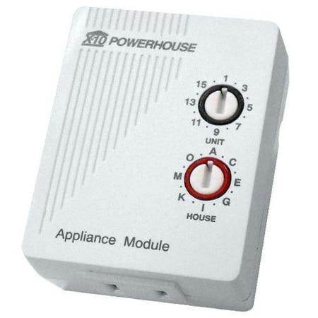 X10 Plug-In Appliance Module, 2 Prong (AM486)