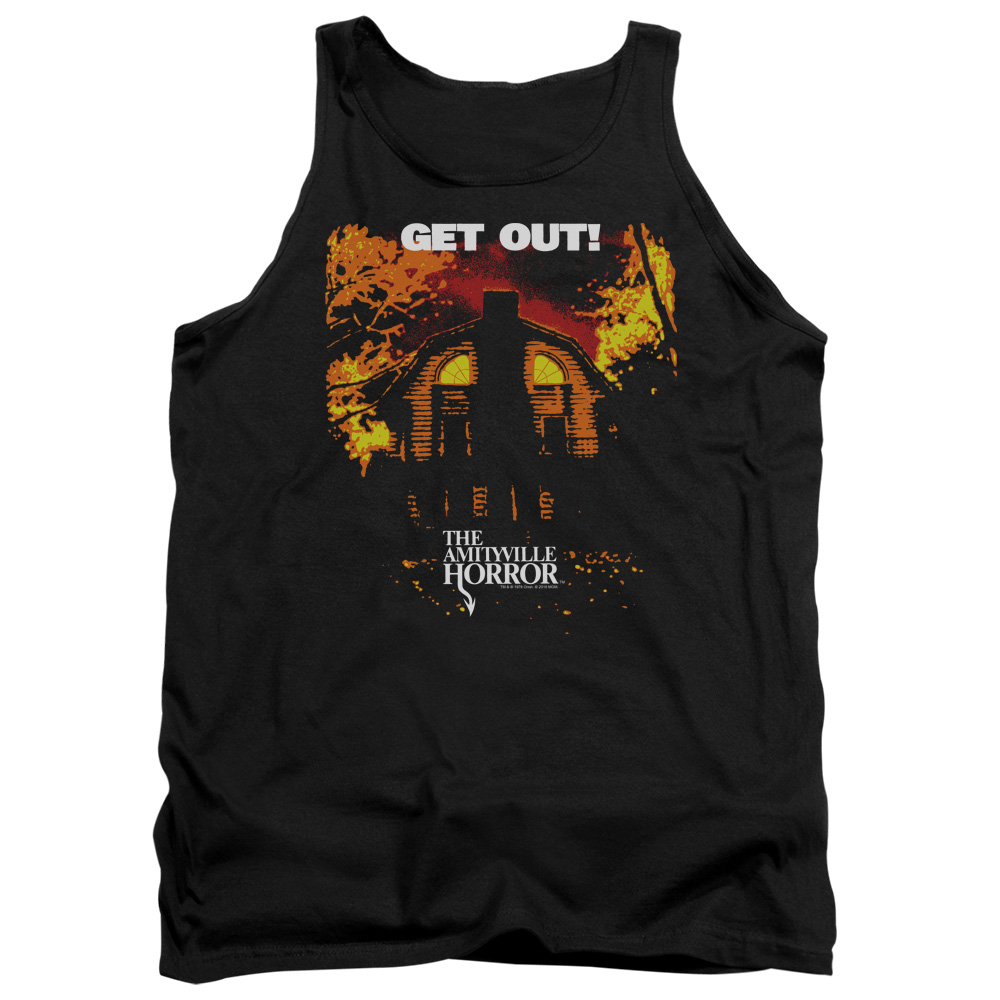 Amityville Horror Get Out Mens Tank Top Shirt