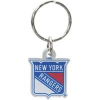 New York Rangers Metallic Freeform Acrylic Keychain