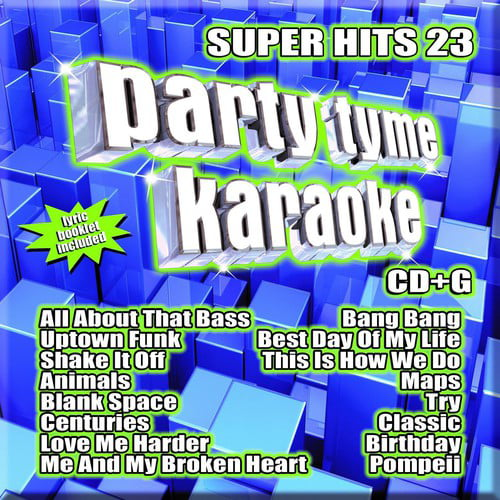 Party Tyme Karaoke: Super Hits 23 by SYBERSOUND